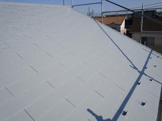 サーモアイで塗装した屋根