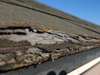 三鷹市井口にてお住まいの点検調査、パミールの屋根は塗装することができません