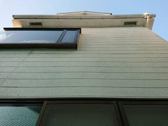外壁の藻を気にされメンテナンスを検討されたK様邸