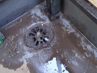 排水口の汚れ詰まり