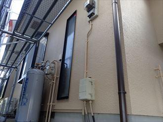 葛飾区金町で行った外壁塗装工事でナノコンポジットWを使用した外壁塗装工事が完了
