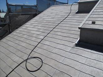 屋根洗浄後の様子