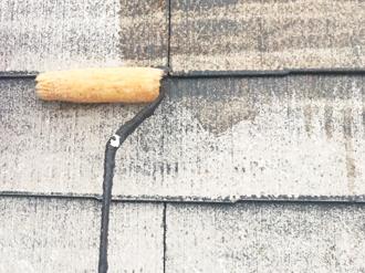 シーラーによる下塗り塗装