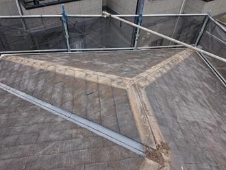 古い貫板の撤去