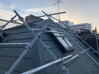 カーバーガルテクトで屋根カバー工法