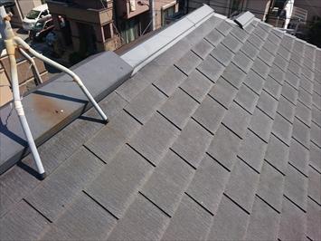 スレート屋根の状況