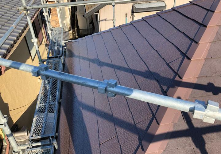 屋根の被災部復旧工事が竣工
