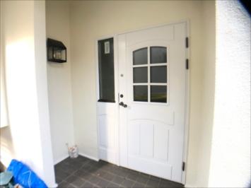 きれいになった玄関