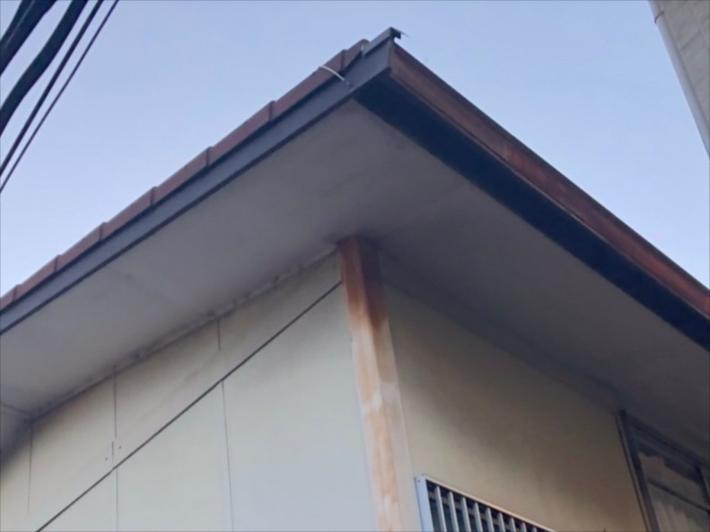 施工前の塗装箇所