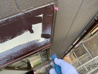 出窓庇の塗装