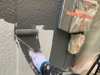 塗装の中塗り工程