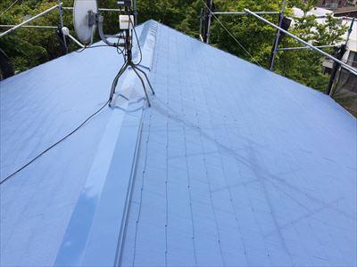 常磐町の屋根外壁塗装工事完了
