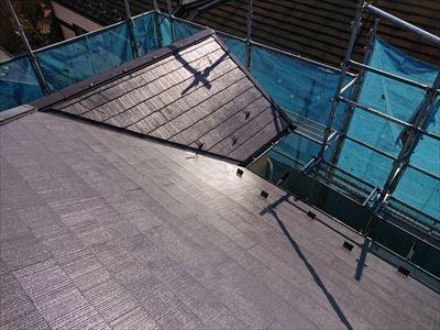 風災調査から屋根外壁塗装工事