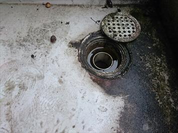 防水の切れ目