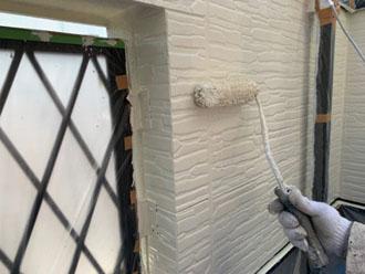 外壁塗装2F 塗装