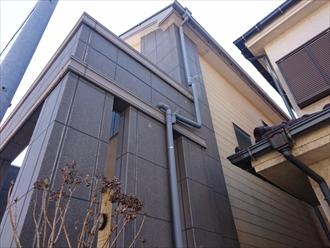 外壁材が何パターンか使用されています