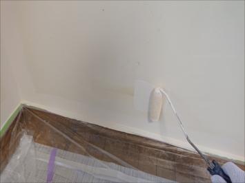 内壁を塗装