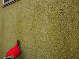 モルタル外壁 色褪せ