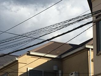 屋根にも劣化が見られました
