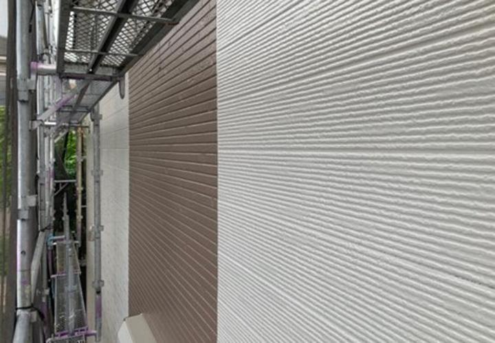 塗装後の窯業系サイディング外壁
