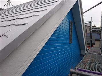 屋根回りも一緒に綺麗にしています