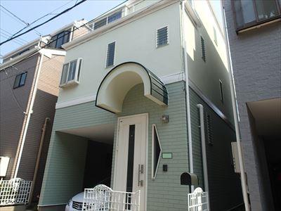エラストコート,サーモアイ,屋根外壁塗装,完了