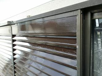 江東区 雨戸の塗装