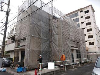 葛飾区塗装と外壁カバー001