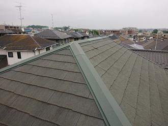 ビフォー 屋根塗装