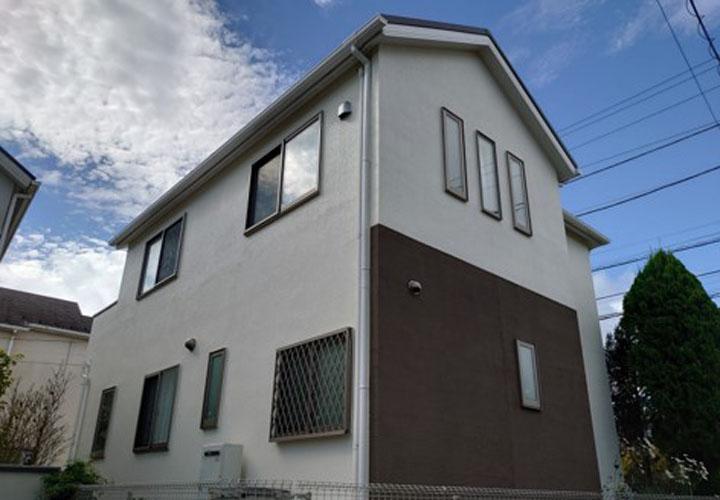 屋根カバー工事と外壁塗装が竣工