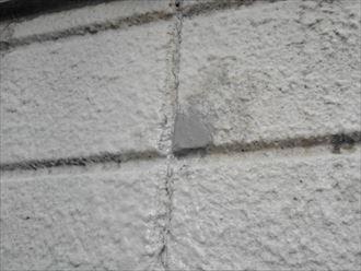 外壁欠損修理完成