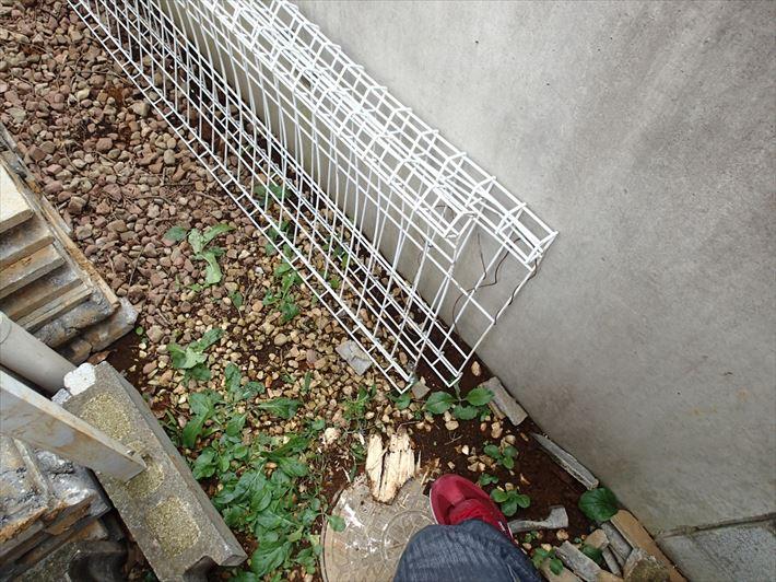 フェンス倒壊