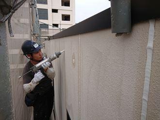 葛飾区塗装と外壁カバー003