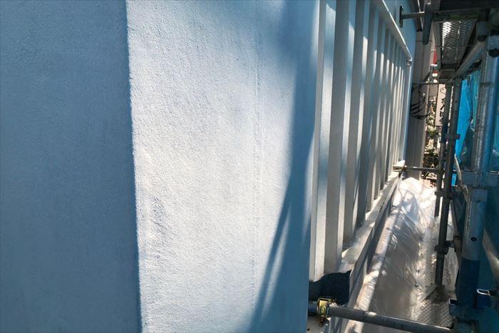 水性ソフトサーフ下塗りの完了
