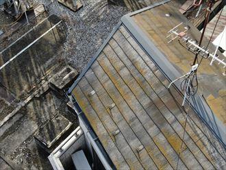 屋根の汚れと劣化
