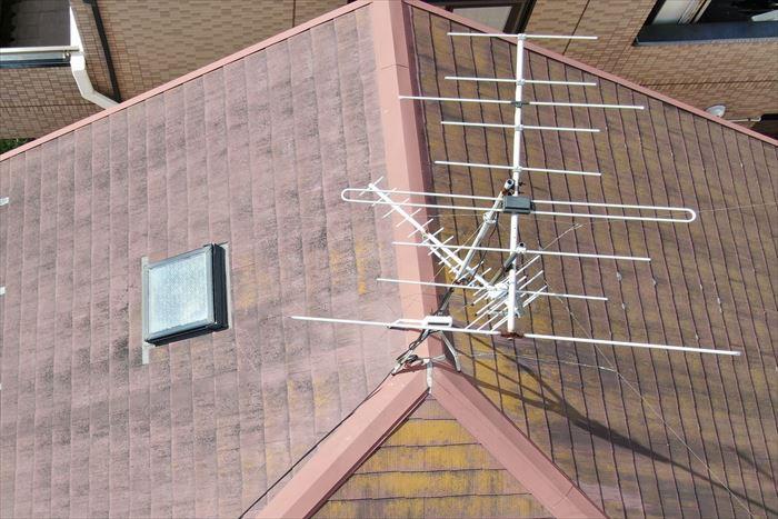 ドローンによるスレート屋根調査
