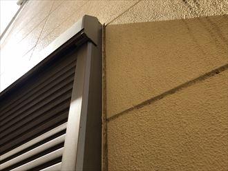 窓枠シーリングの状況