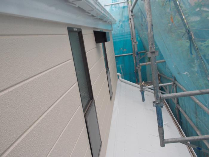 江東区 外壁塗装完了