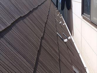 急勾配スレート屋根
