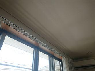 雨漏り箇所の窓