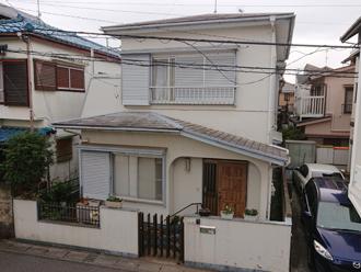 外壁塗装・屋根カバー工法 工事前