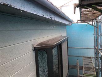 破風板、外壁の劣化
