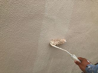 水性セラミシリコンの塗布