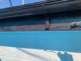 破風板塗装の実施