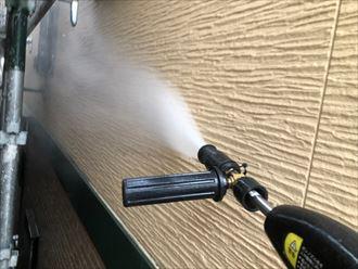 外壁洗浄を行います