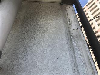 ALC外壁の目地割れ