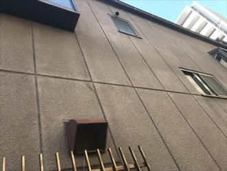 ALC外壁の縦横目地