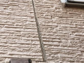 窯業サイディング外壁のシーリングが劣化しています
