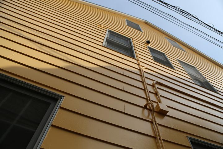 外壁塗装工事完工