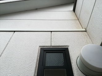 色褪せ塗膜劣化した外壁